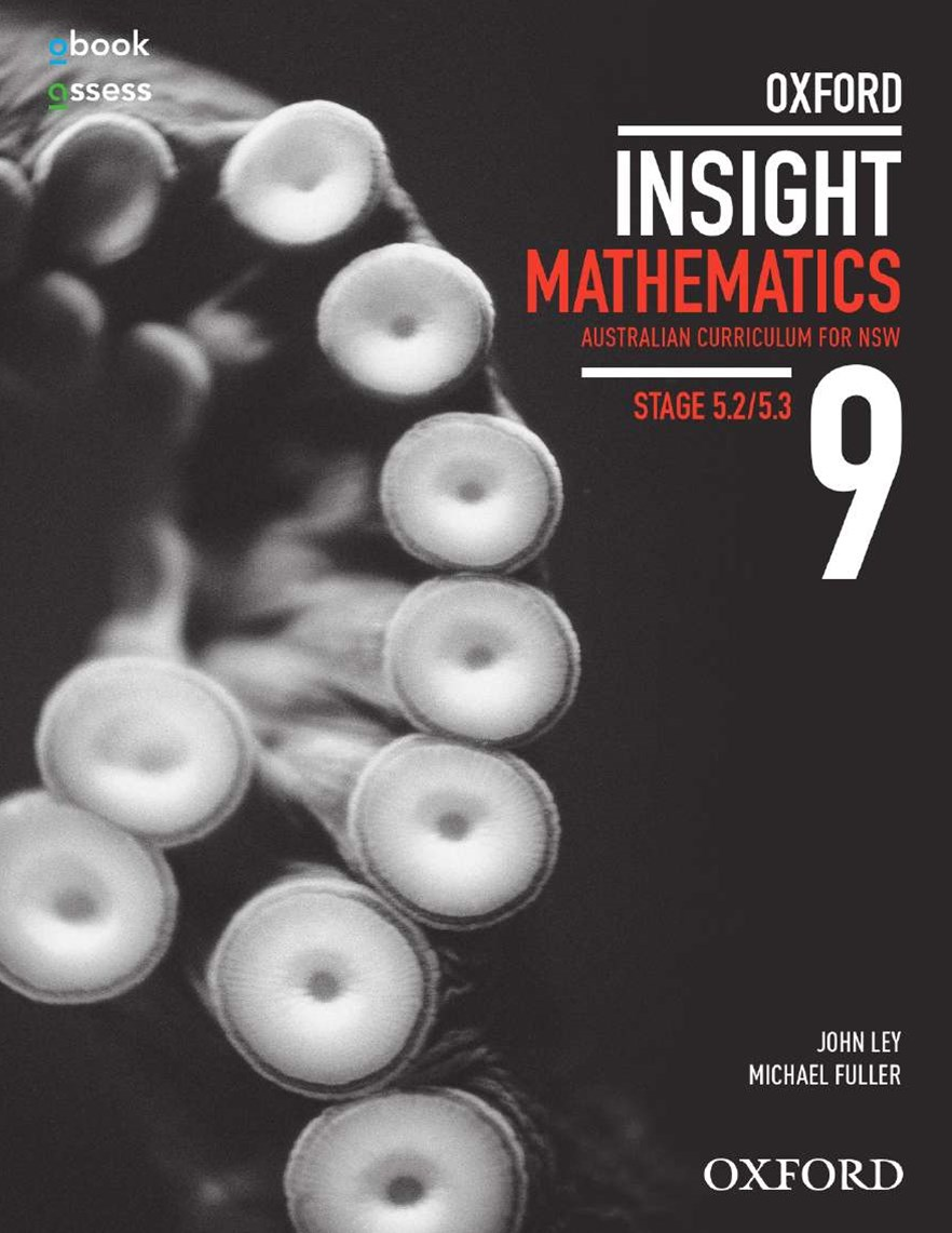 Oxford Insight Mathematics 9 5.2/5.3 AC for NSW Student book + obook assess