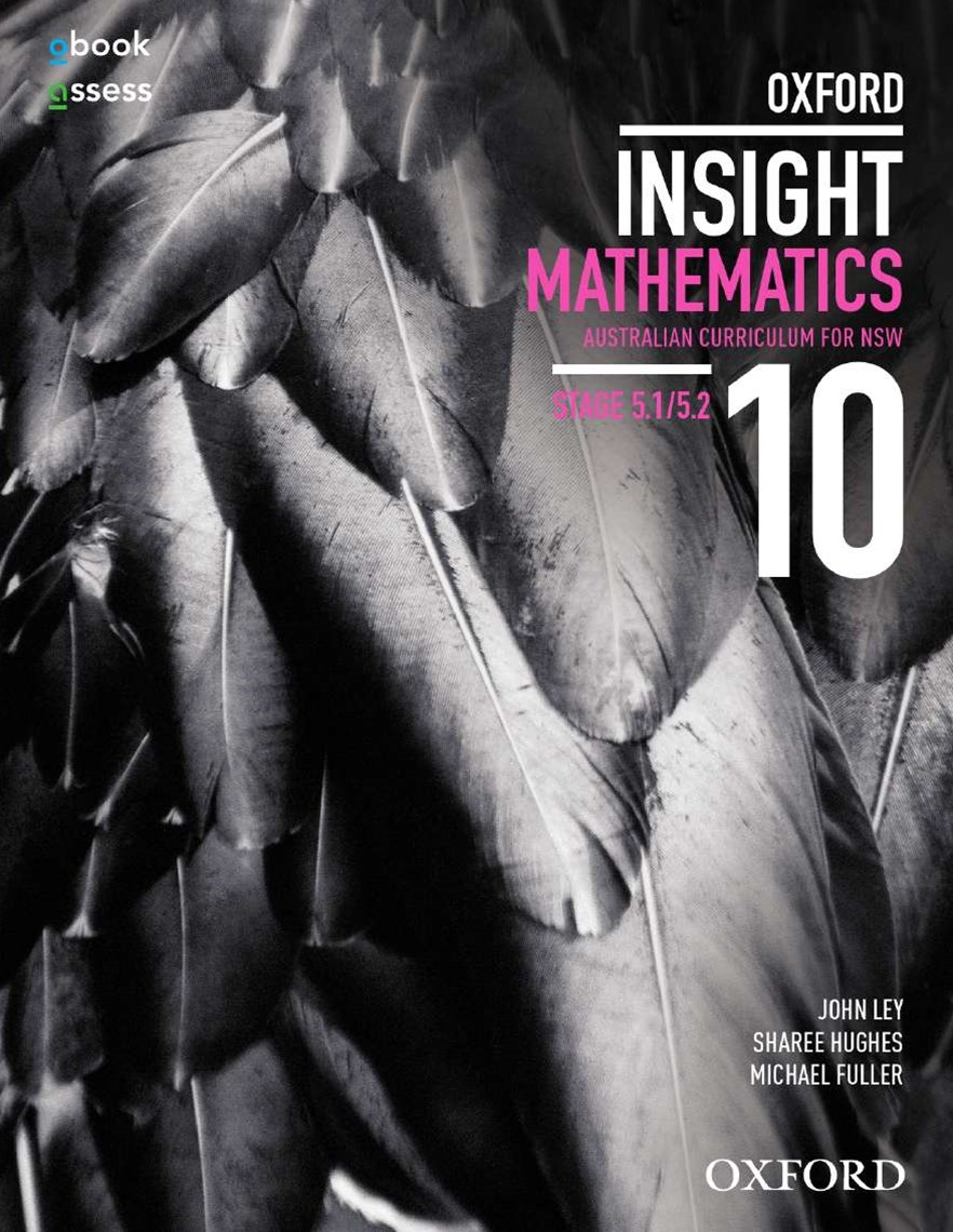 Oxford Insight Mathematics 10 5.1/5.2 AC for NSW Student Book + obook
