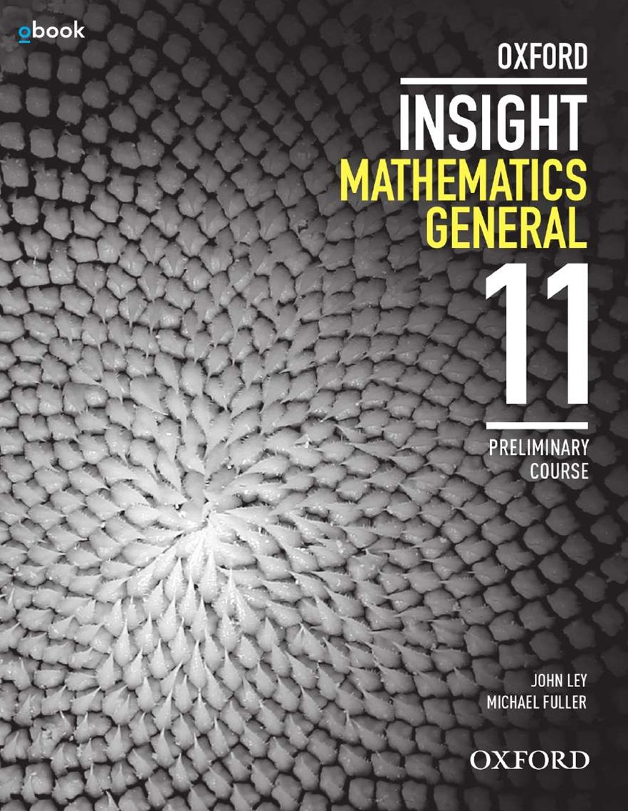 Oxford Insight Mathematics General Preliminary Course Student Book + obook