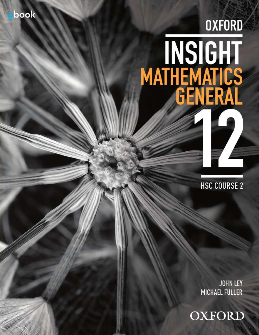 Oxford Insight Mathematics General HSC General 2 Student Book + obook