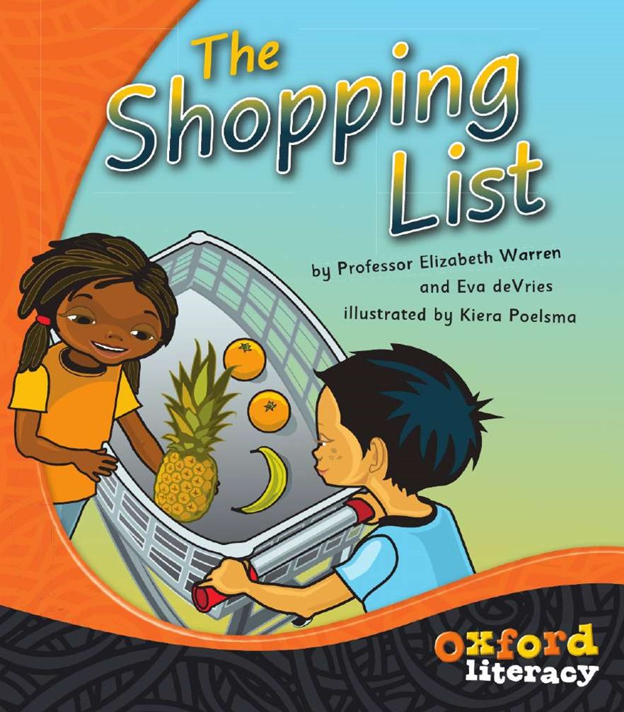 Oxford Literacy The Shopping List Pack of 6