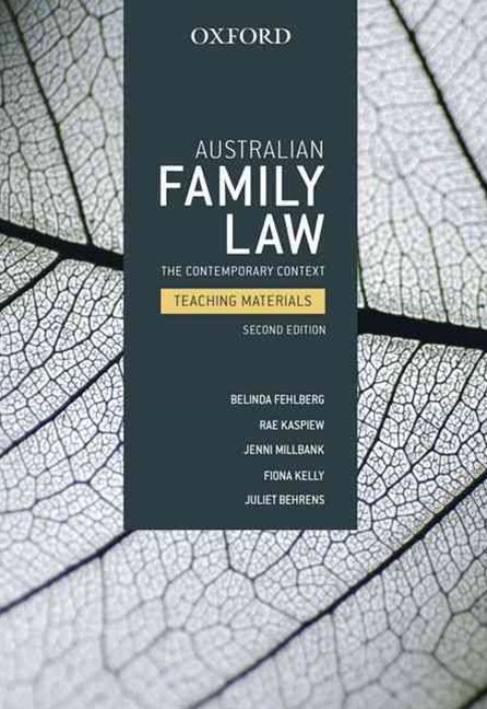 Australian Family Law Teaching Materials