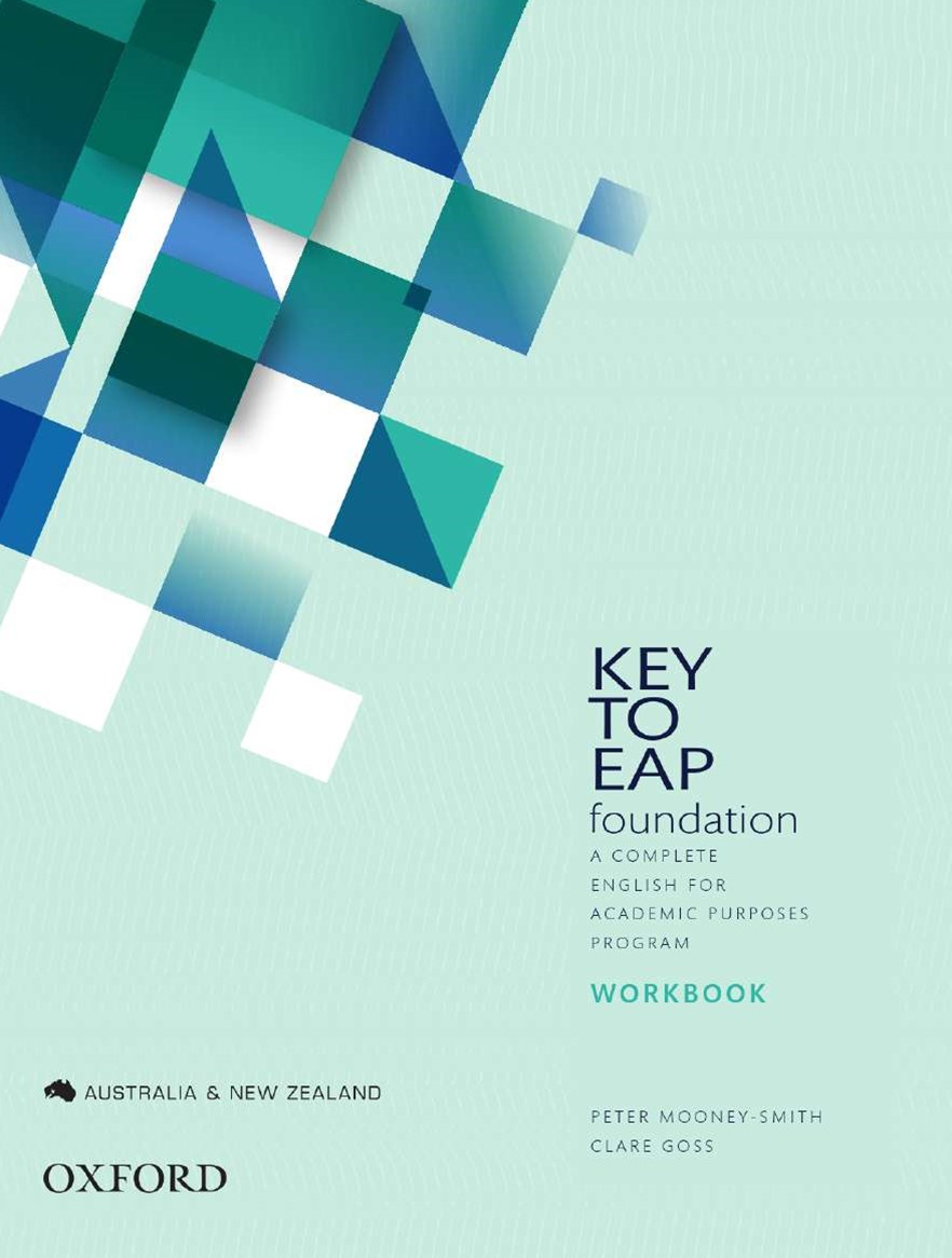 Key to EAP Student Workbook Foundation Level