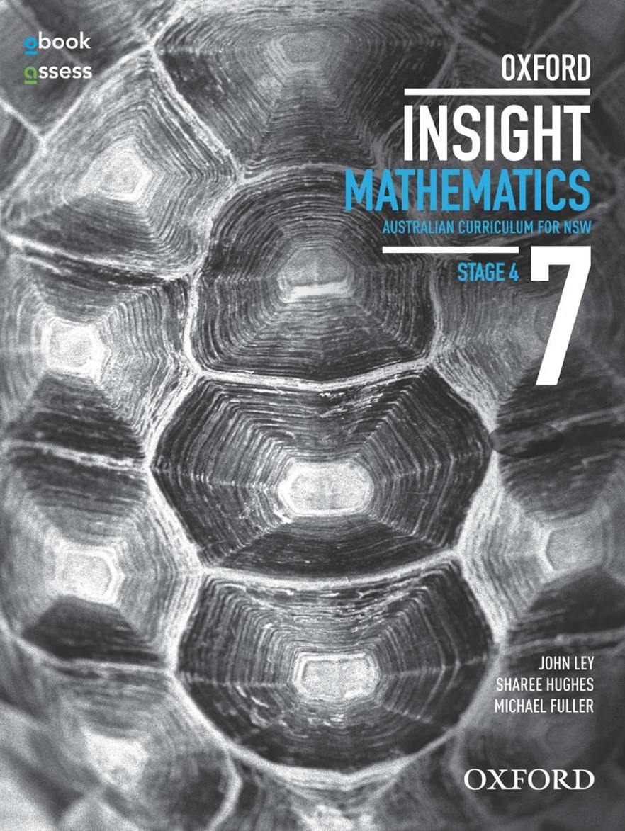 Oxford Insight Mathematics 7 AC for NSW Student book + obook assess