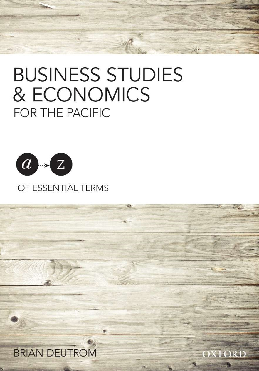 Business Studies & Economics for the Pacific A-Z Essential Terms