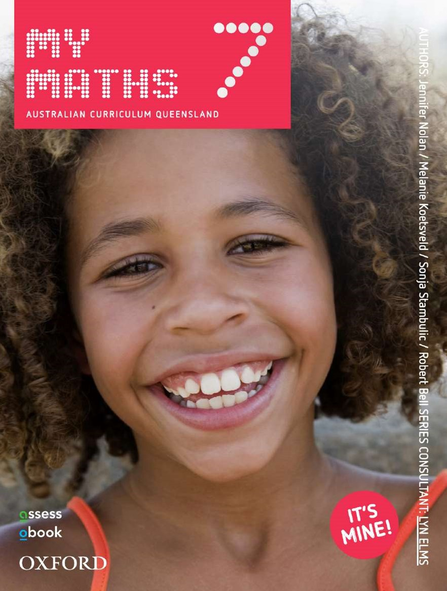 MyMaths 7 Australian Curriculum for Qld Student book + obook assess