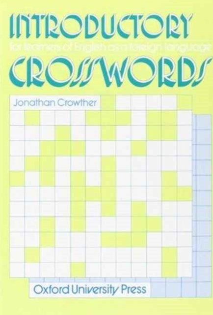 Introductory Crosswords