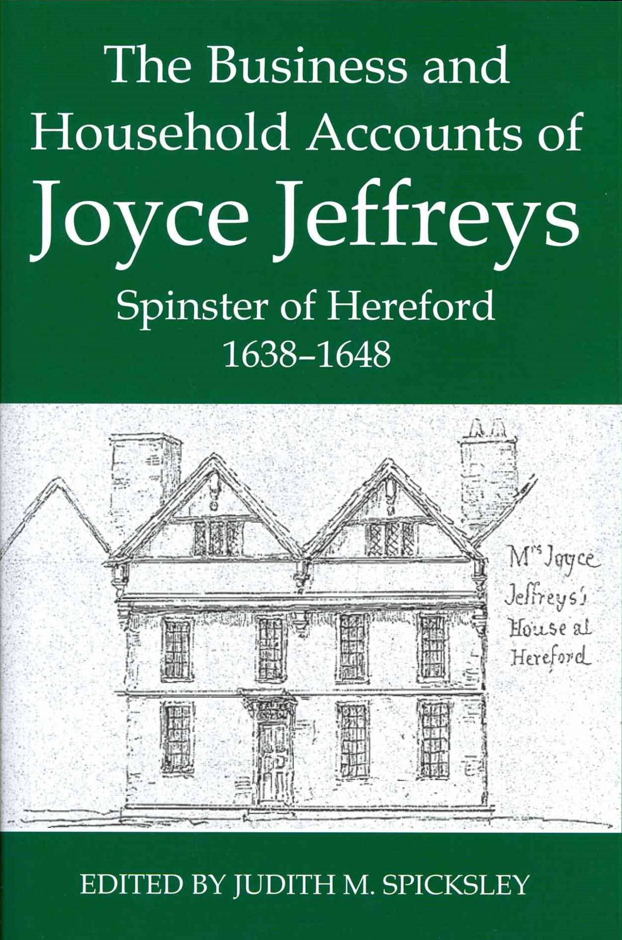 The Business and Household Accounts of Joyce Jeffreys