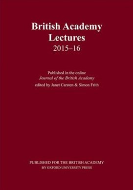 British Academy Lectures, 2015-16