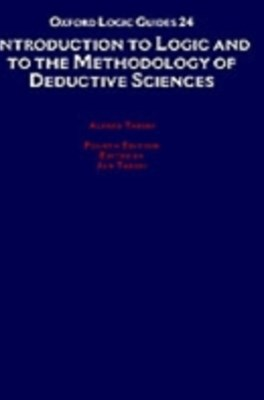Introduction to Logic and to the Methodology of the Deductive Sciences