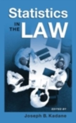 (ebook) Statistics in the Law