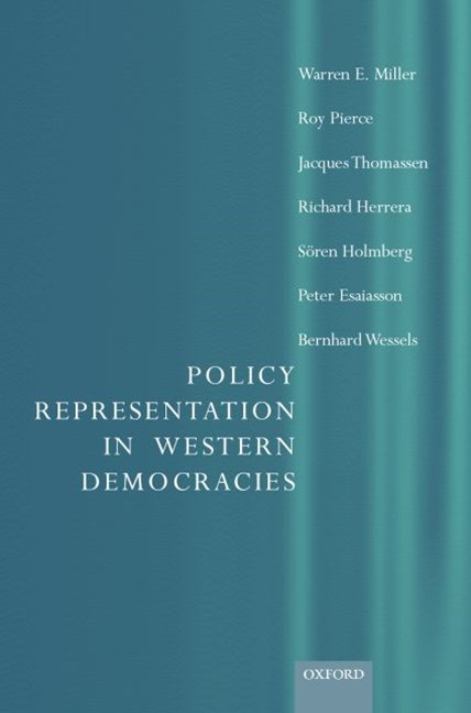 Policy Representation in Western Democracies