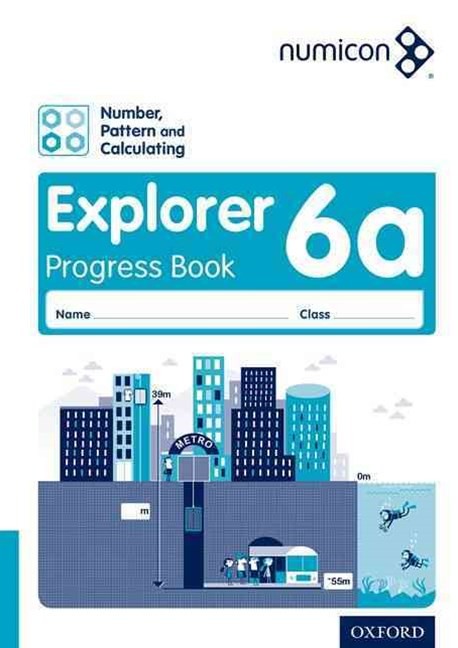 Numicon Number, Pattern and Calculating 6 Explorer Progress Book A Pack of 30