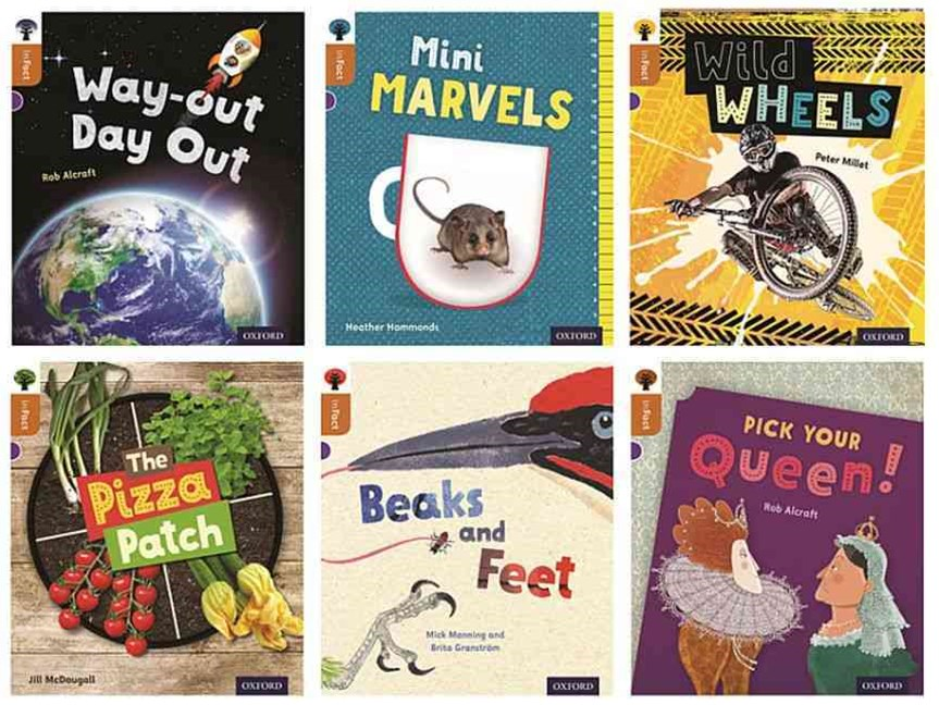 Oxford Reading Tree Infact Level 8 Mixed Pack of 6