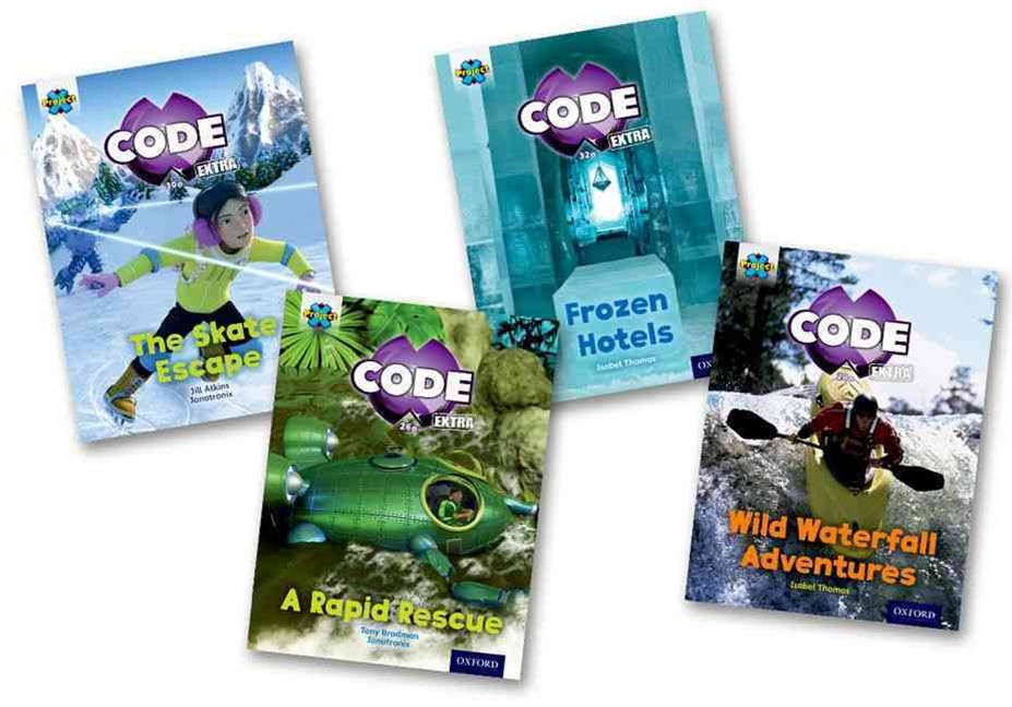 Project X CODE Extra Orange Book Band Oxford Level 6 Fiendish Falls & Big Freeze