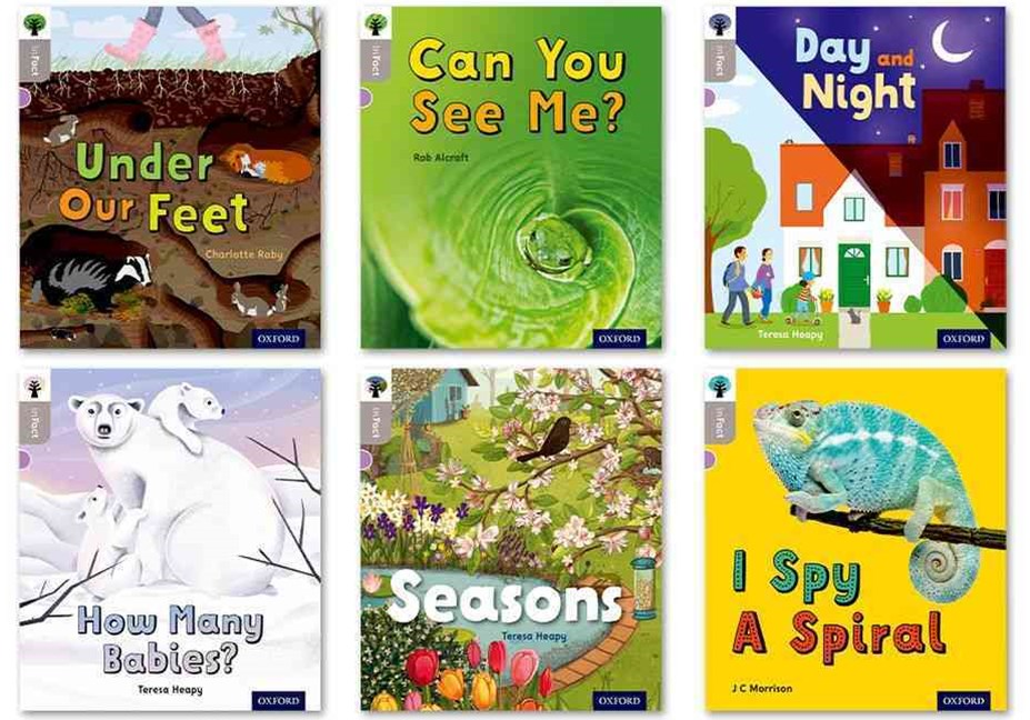 Oxford Reading Tree inFact: Oxford Level  1 Mixed Pack of 6