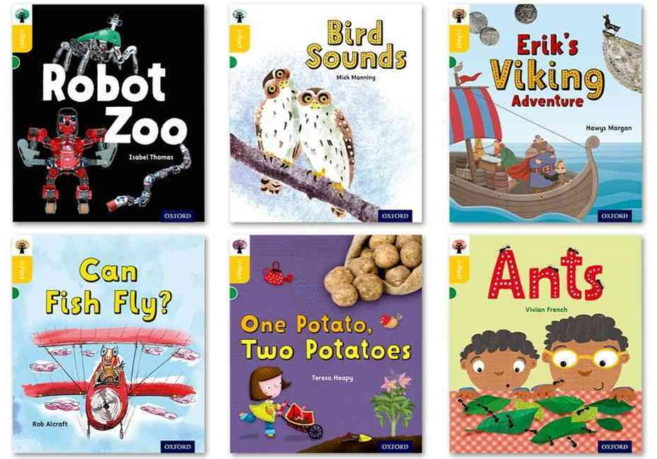 Oxford Reading Tree inFact: Oxford Level 5 Mixed Pack of 6
