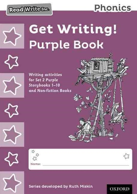 Read Write Inc Phonics: Get Writing! Purple Book Pack of 10
