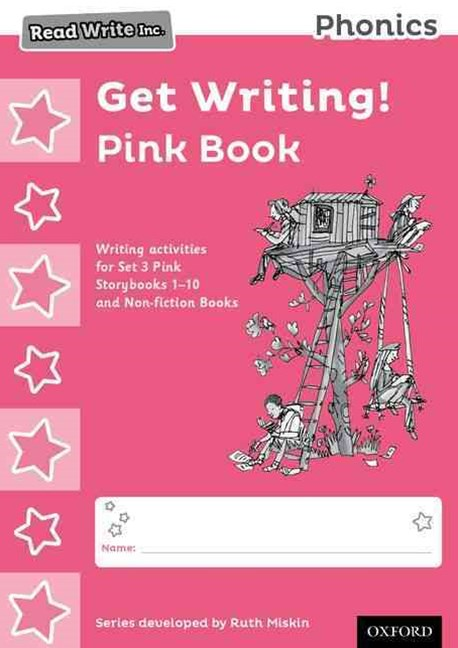 Read Write Inc Phonics: Get Writing! Pink Book Pack of 10