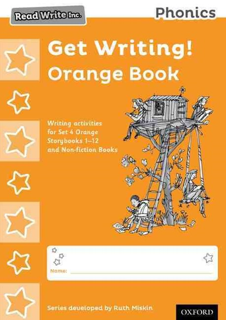 Read Write Inc Phonics: Get Writing! Orange Book Pack of 10