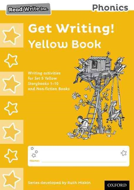Read Write Inc Phonics: Get Writing! Yellow Book Pack of 10