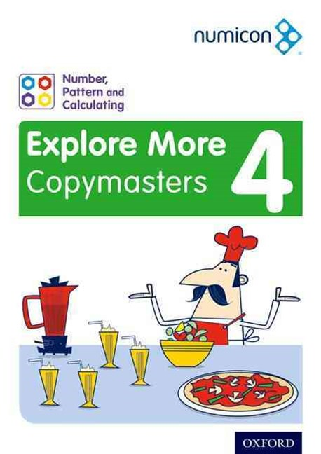 Numicon Number, Pattern and Calculating 4 Explore More Copymasters 4