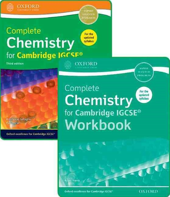Complete Chemistry for Cambridge IGCSE Student Book & Workbook Pack