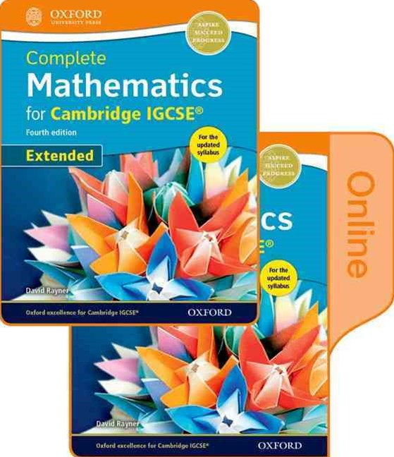 Complete Mathematics for Cambridge IGCSE Online & Print Student Book