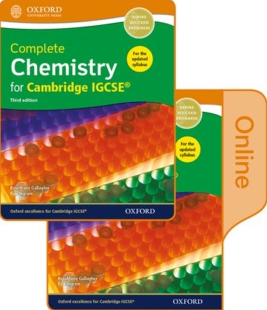 Complete Chemistry for Cambridge IGCSE® Print and Online Student Book Pack
