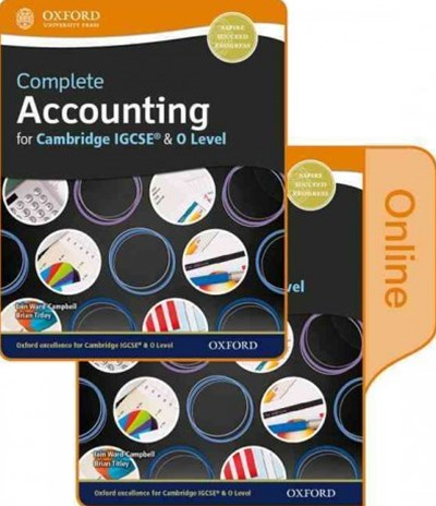Complete Accounting for Cambridge O Level & Igcse Student + Online Book