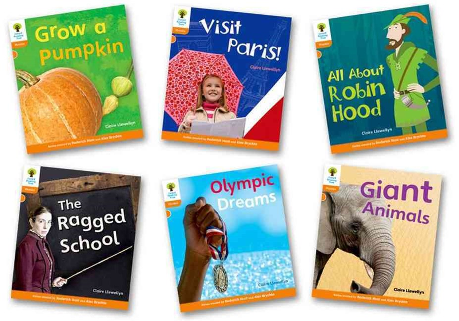 Giant Animals, Grow a Pumpkin, All about Robin Hood, The Ragged School, Olympic Dreams