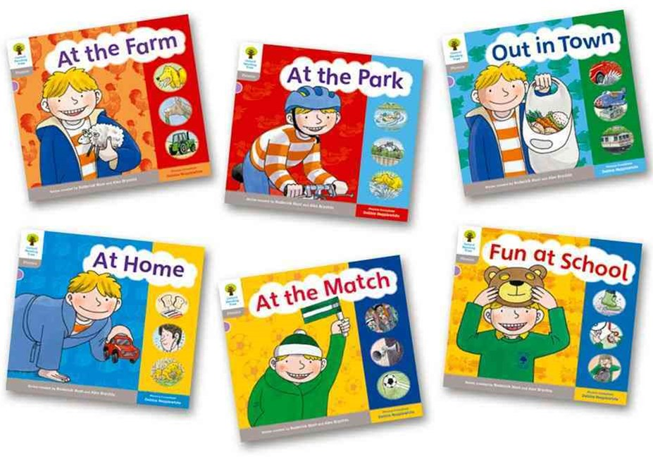 Oxford Reading Tree Floppy's Phonics Sounds and Letters Level 1 Pack of 6
