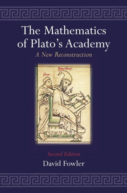 The Mathematics of Plato's Academy