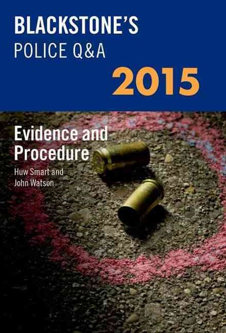 Blackstone's Police Q and a 2015