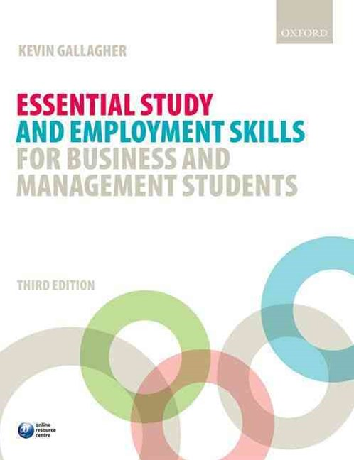 Essential Study and Employment Skills for Business and Management Students