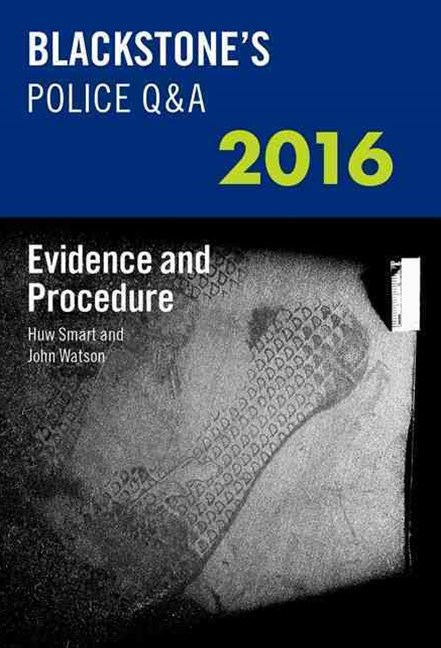 Evidence and Procedure 2016