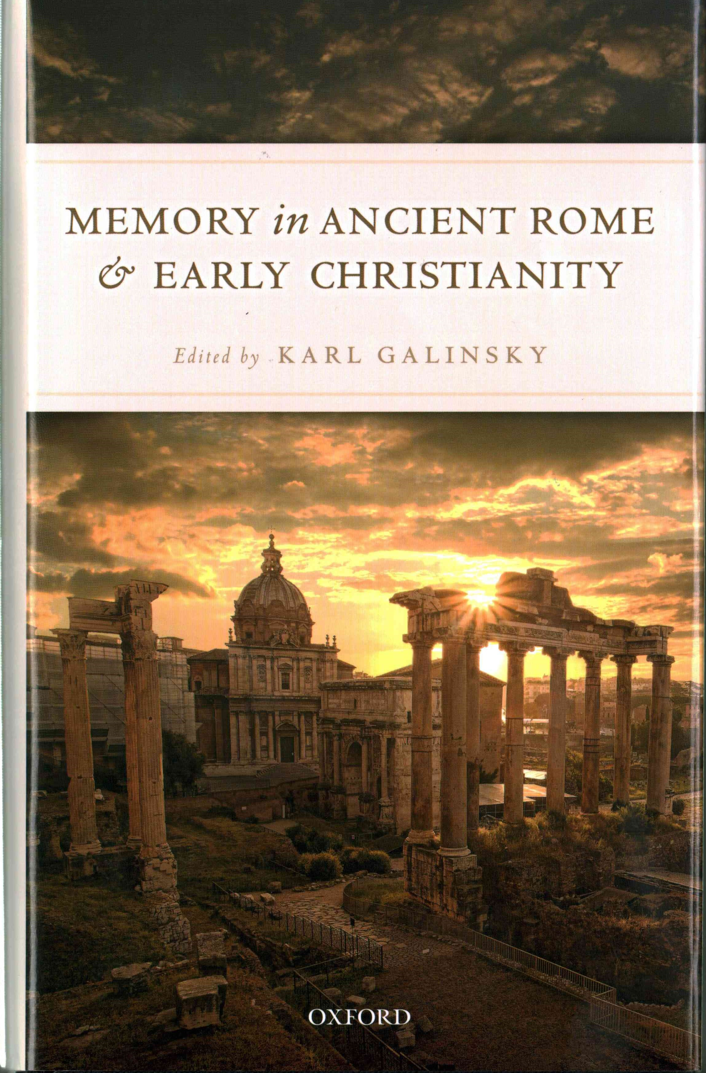 Memory in Ancient Rome and Early Christianity