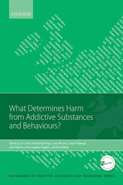 What Determines Harm from Addictive Substances and Behaviours?