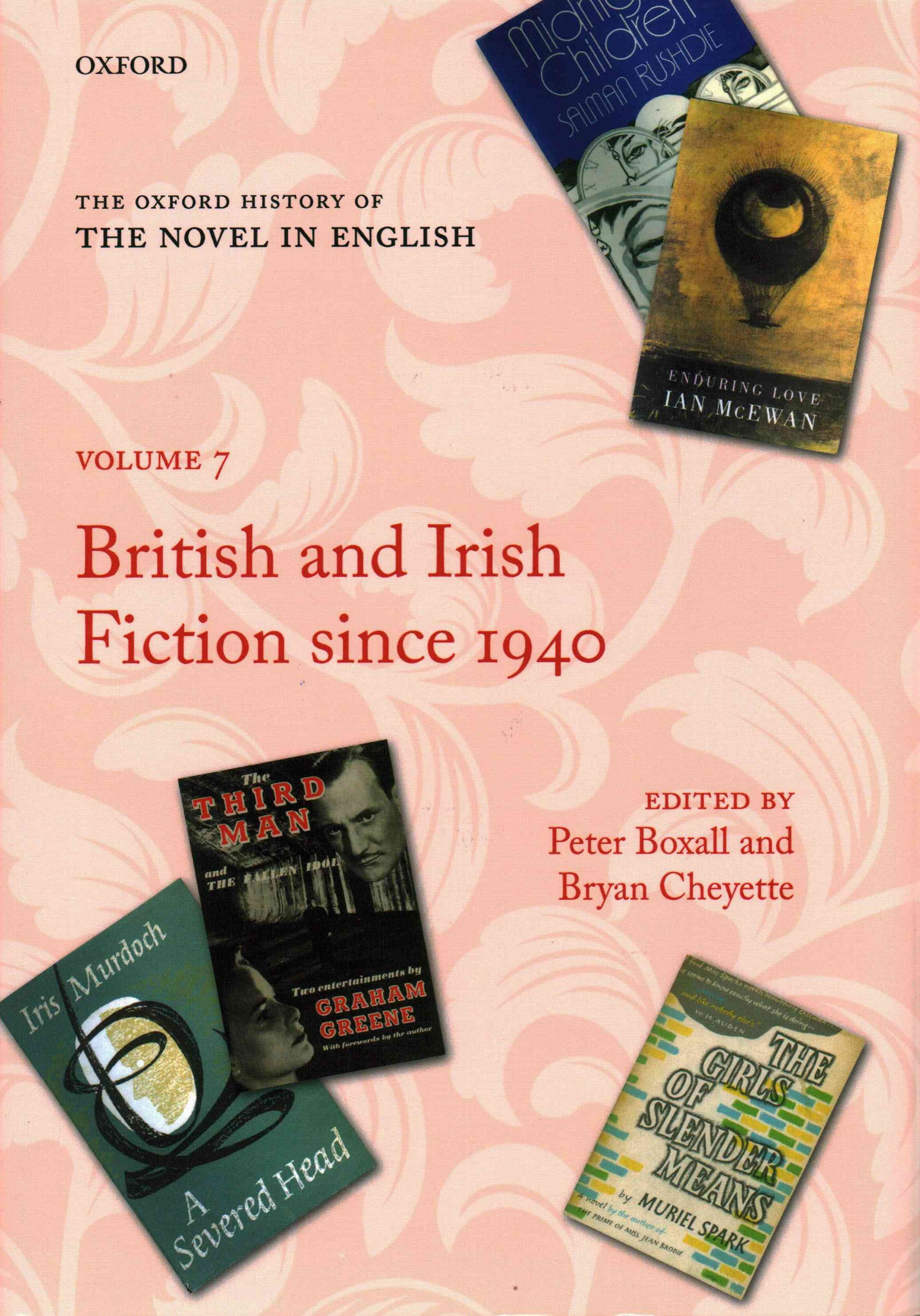 The Oxford History of the Novel in English: Volume 7