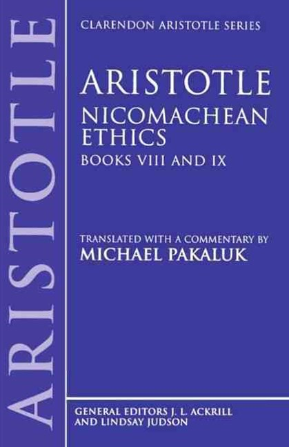 Nicomachean Ethics, Books VIII and IX