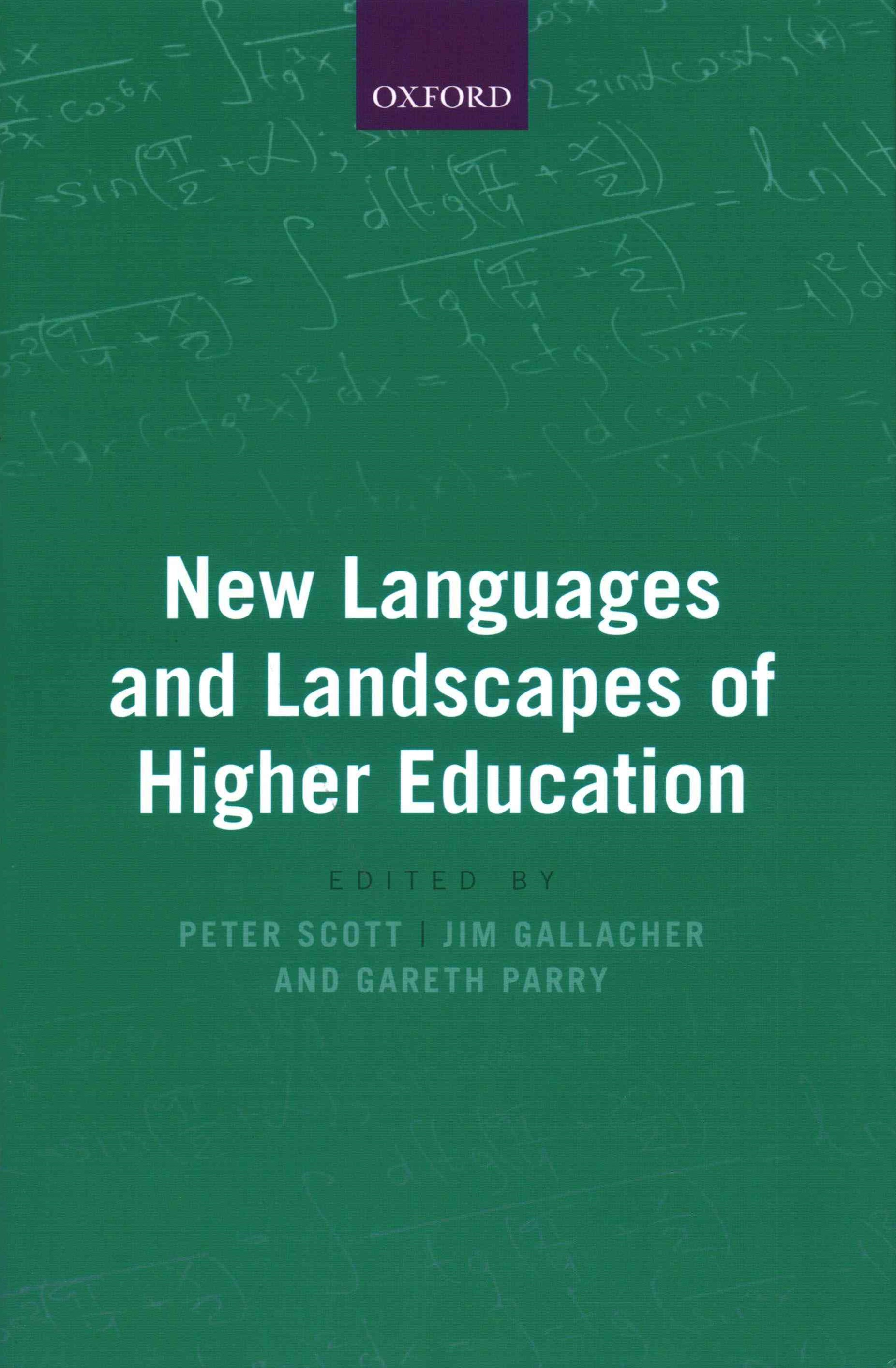 New Landscapes and Languages in Higher Education