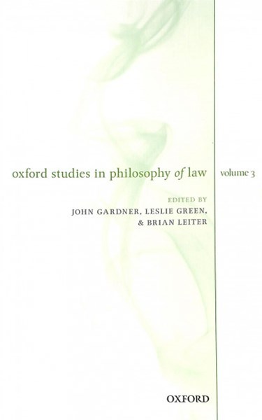 Oxford Studies in Philosophy of Law