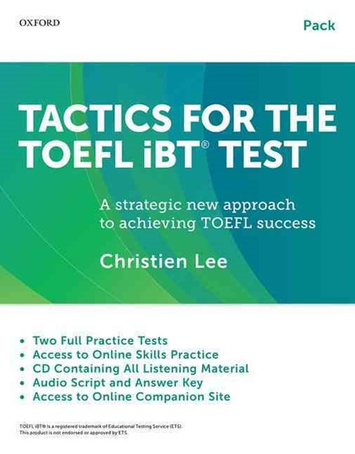 Tactics for Toefl IBT Test Pack