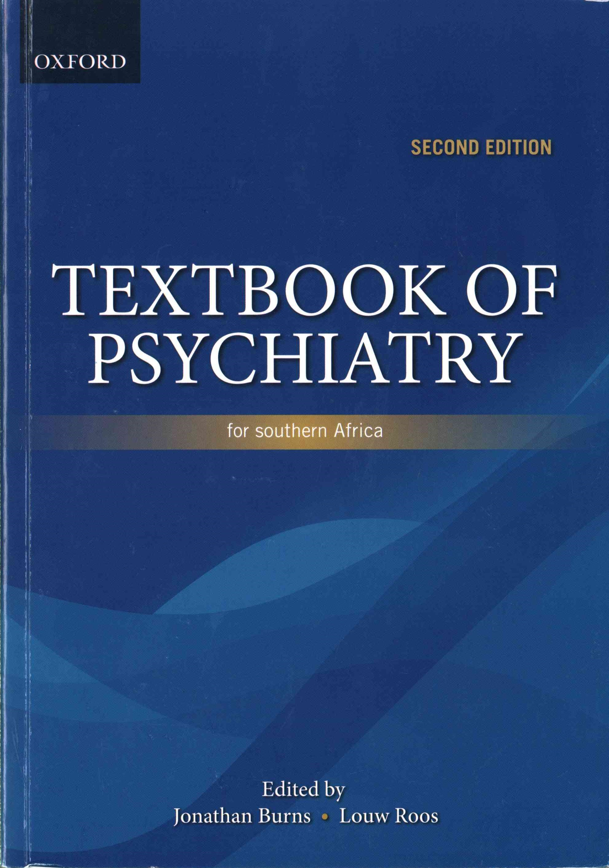 Textbook of Psychiatry for Southern Africa