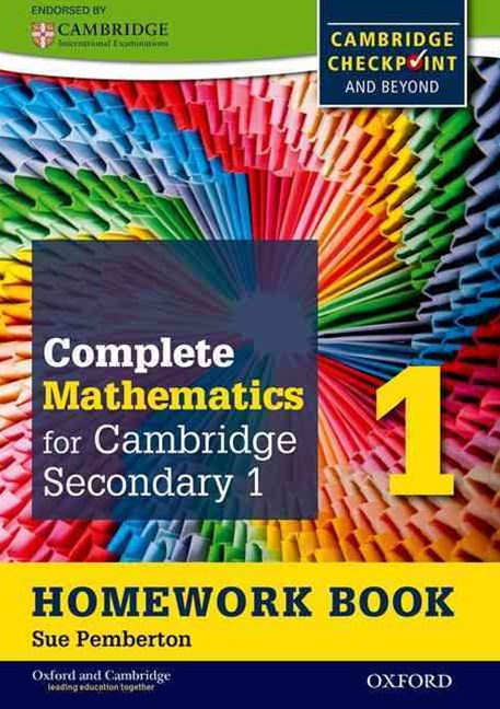 Oxford International Maths for Cambridge Secondary 1 Homework Book 1 (Pack of 15