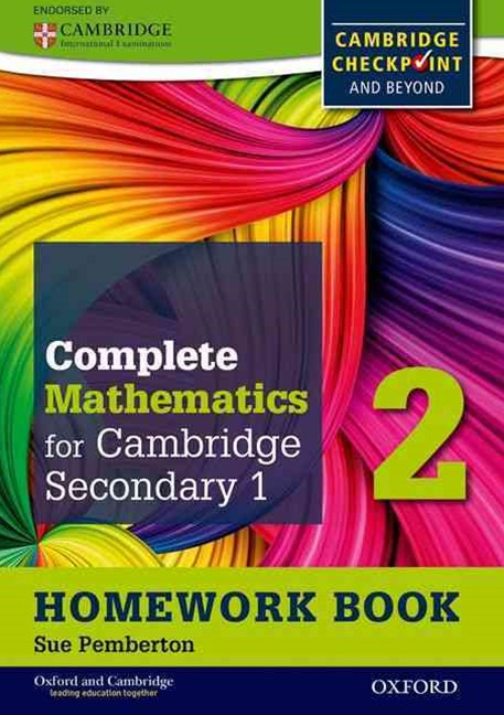 Oxford International Maths for Cambridge Secondary 1 Homework Book 2 (Pack of 15