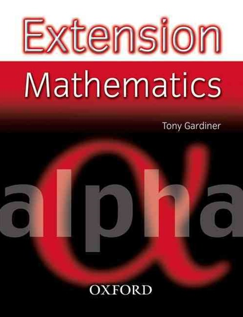 Extension Mathematics Year 7 Alpha