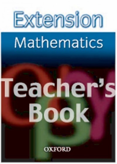 Extension Maths Teacher's Book
