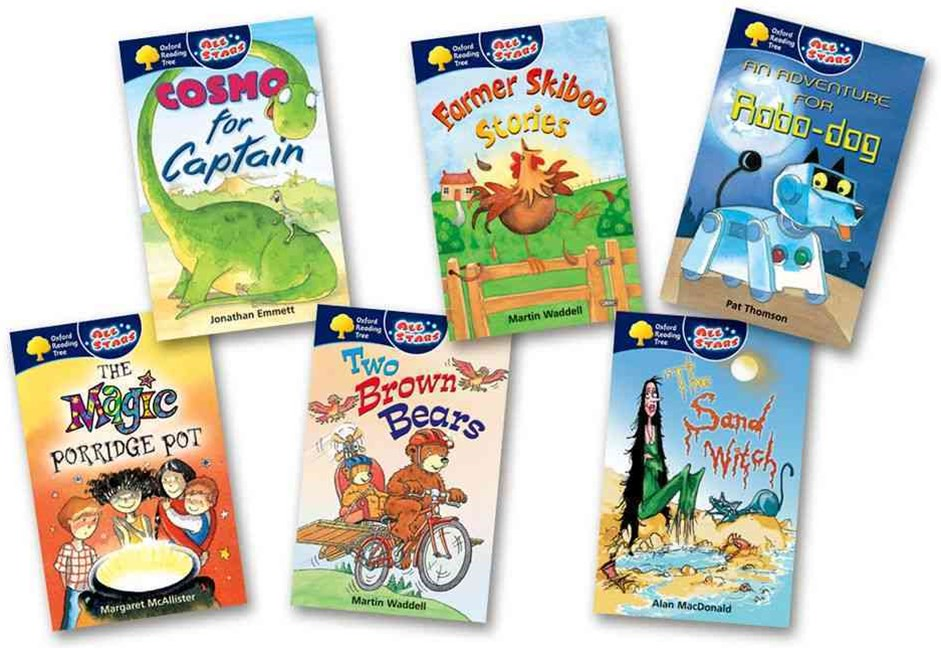 Oxford Reading Tree All Stars Pack 1 Pack of 6