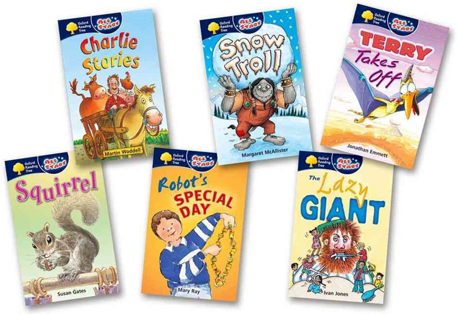 Oxford Reading Tree All Stars Pack 1a Pack of 6